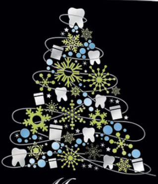 Decorate for Christmas with Dental Floss!